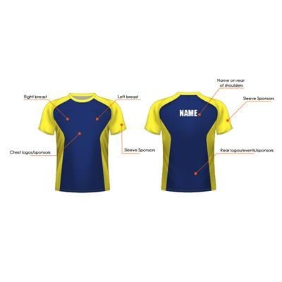 Picture of BESPOKE 170G FULLY SUBLIMATED TEE SHIRT
