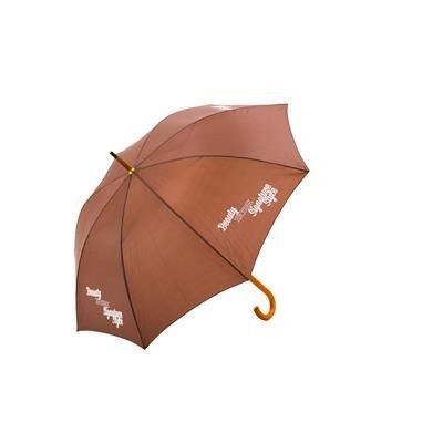 Picture of CORPORATE WOOD WALKING UMBRELLA