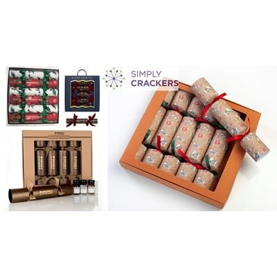 Picture of BESPOKE BOX OF 6 CHRISTMAS CRACKERS