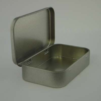 Picture of PASTILLE TIN with Hinged Lid