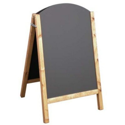 Picture of A-BOARD WOOD CHALK BOARD
