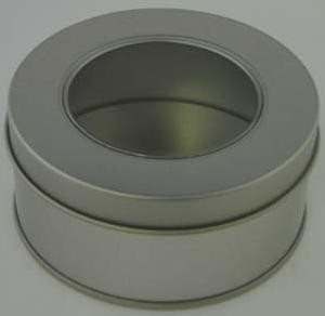 Picture of ROUND SLIP LID TIN with Window