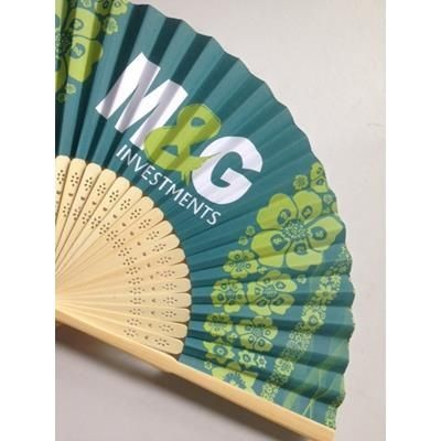 Picture of CUSTOM TRADITIONAL HAND FAN