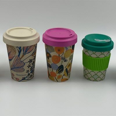 Picture of DUNHAM PROMOTIONAL BAMBOO FIBRE RE-USABLE COFFEE CUP