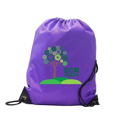Picture of BURTON POLYESTER DRAWSTRING GYMSAC BAG in Purple