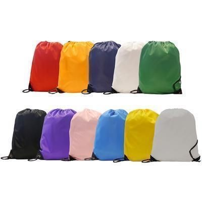 Picture of BURTON RECYCLABLE POLYESTER DRAWSTRING GYMSAC BAG