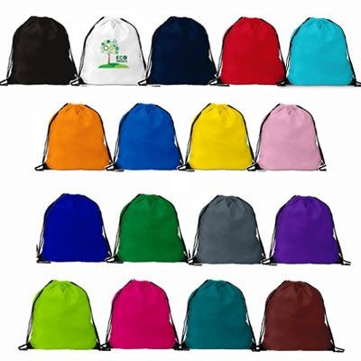 Picture of BURTON ECO FRIENDLY RECYCLABLE POLYESTER DRAWSTRING GYMSAC BAG