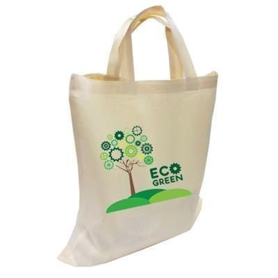 Picture of DUNHAM COTTON SHOPPER TOTE BAG BIODEGRADABLE with Short Handles