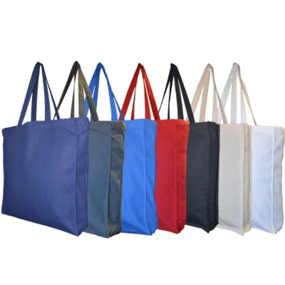 Picture of 10oz DUNHAM DYED COTTON CANVAS BAG BIODEGRADABLE with Gusset