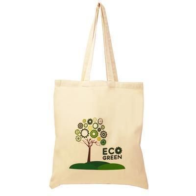 Picture of 5OZ ALTERNATIVE COTTON SHOPPER TOTE BAG with Long Handles