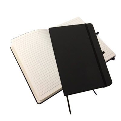 Picture of DISLEY A5 CLASSIC NOTE BOOK in Black