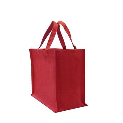 Picture of TATTON DYED JUTE CARRIER BAG - EXTRA LARGE