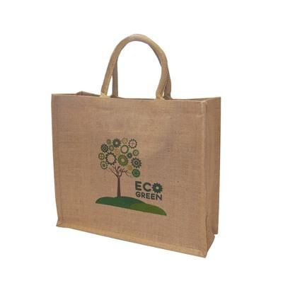 Picture of TATTON JUTE CARRIER BAG - EXTRA LARGE