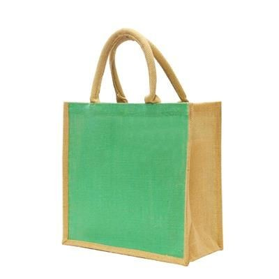 Picture of TATTON DYED JUTE TOTE BAG - EXTRA LARGE