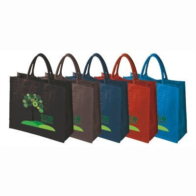 Picture of WENTWORTH BIO-DEGRADABLE DYED JUTE TOTE BAG FOR LIFE