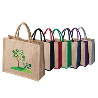 Picture of TATTON JUTE TOTE BAG FOR LIFE