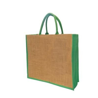 Picture of TATTON DYED JUTE BAG - MEDIUM