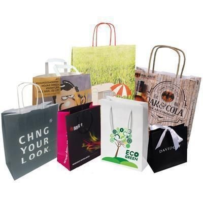 Picture of WALTON GLOSS LAMINATED PAPER GIFT CARRIER BAG