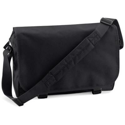 Picture of MARBURY 600D POLYESTER MESSENGER BAG in Black