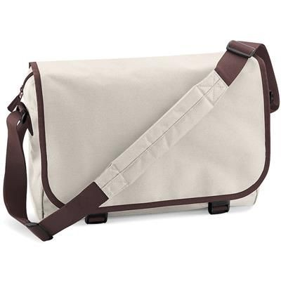 Picture of MARBURY 600D POLYESTER MESSENGER BAG in Sand