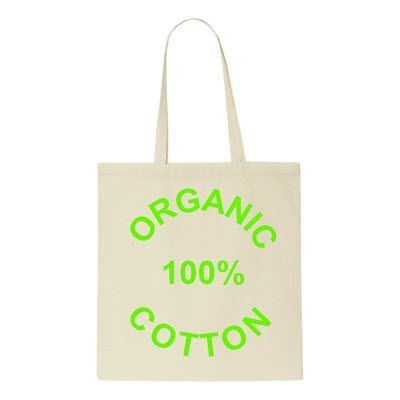 ARLEY ORGANIC COTTON SHOPPER TOTE BAG