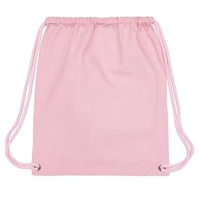 Picture of PLANET 100% RECYCLED 300GSM DRAWSTRING GYM BAG