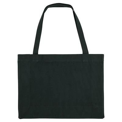 Picture of PLANET 100% RECYCLED EXTRA LARGE SHOPPER TOTE BAG with Gusset