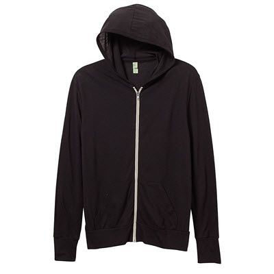 Picture of 150GSM ECO JERSEY ZIP HOODED HOODY