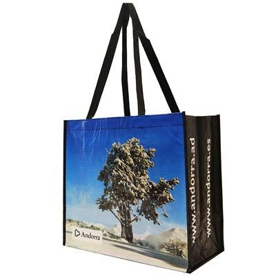 Picture of KNOWSLEY GLOSSY LAMINATED WOVEN PP BAG FOR LIFE with Long Handles