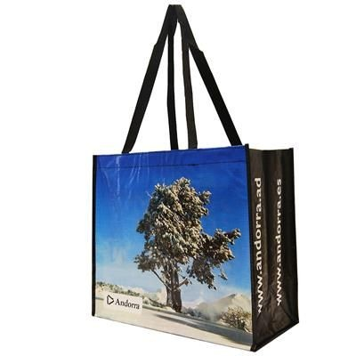 Picture of KNOWSLEY LAMINATED POLYPROPYLENE TOTE BAG with Long Handles