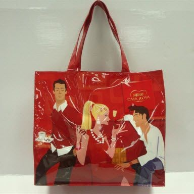 Picture of KNOWSLEY PVC SHOPPER TOTE BAG