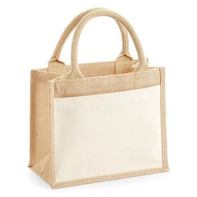 Westford Mill Shopping Jute Cotton Bag For Life 21 L Reusable durable