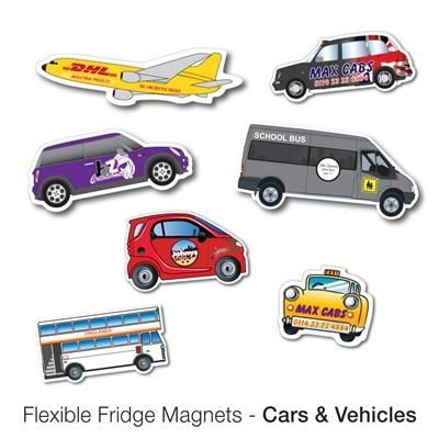 Picture of VARIOUS CAR AND VEHICLE SHAPE FLEXIBLE FRIDGE MAGNET