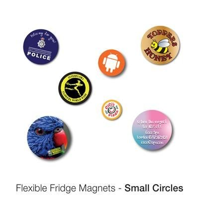 Picture of VARIOUS SMALL CIRCLE SHAPE FLEXIBLE FRIDGE MAGNET