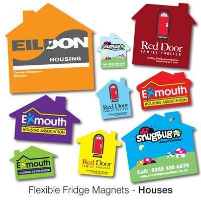 Picture of VARIOUS HOUSE SHAPE FLEXIBLE FRIDGE MAGNET