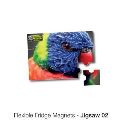 Picture of JIGSAW 02 12 PIECE SHAPE FLEXIBLE FRIDGE MAGNET