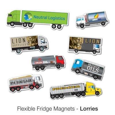 Picture of VARIOUS LORRY SHAPE FLEXIBLE FRIDGE MAGNET