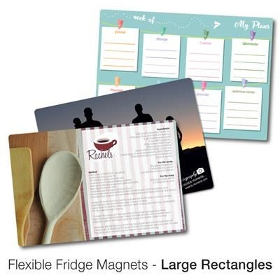 Picture of VARIOUS LARGE RECTANGULAR SHAPE FLEXIBLE FRIDGE MAGNET