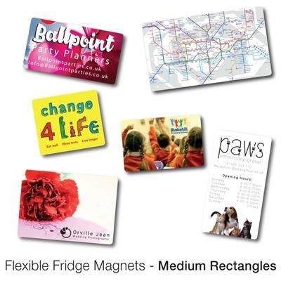 Picture of VARIOUS MEDIUM RECTANGULAR SHAPE FLEXIBLE FRIDGE MAGNET