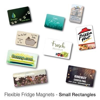 Picture of VARIOUS SMALL RECTANGULAR SHAPE FLEXIBLE FRIDGE MAGNET