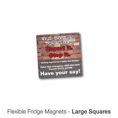 Picture of VARIOUS LARGE SQUARE SHAPE FLEXIBLE FRIDGE MAGNET