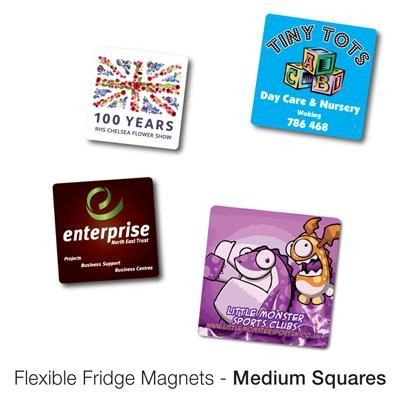 Picture of VARIOUS MEDIUM SQUARE SHAPE FLEXIBLE FRIDGE MAGNET