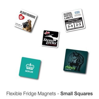 Picture of VARIOUS SMALL SQUARE SHAPE FLEXIBLE FRIDGE MAGNET