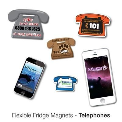 Picture of VARIOUS PHONE SHAPE FLEXIBLE FRIDGE MAGNET