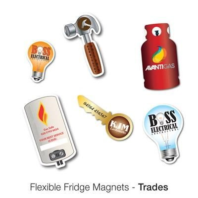 Picture of VARIOUS TRADE SHAPE FLEXIBLE FRIDGE MAGNET