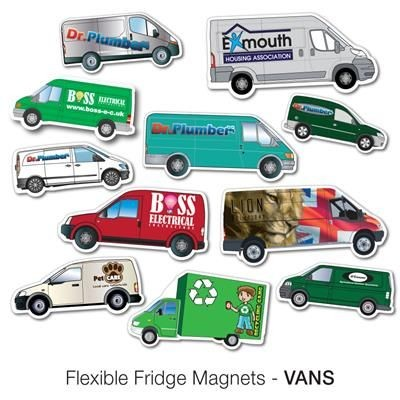 Picture of VARIOUS VAN SHAPE FLEXIBLE FRIDGE MAGNET