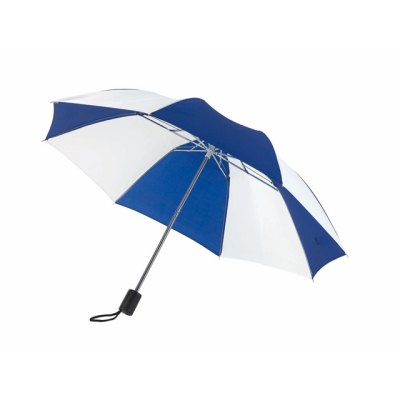 Picture of POCKET UMBRELLA in Blue & White