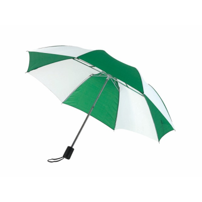 Picture of POCKET UMBRELLA in Green & White
