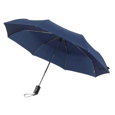 Picture of AUTOMATIC TELESCOPIC POCKET UMBRELLA in Navy Blue