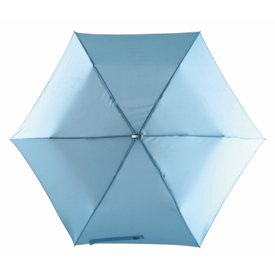 Picture of SUPER SLIM TELESCOPIC MINI UMBRELLA in Light Blue